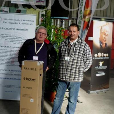 Championnat de France  à Niort 2015 le président FFO  site