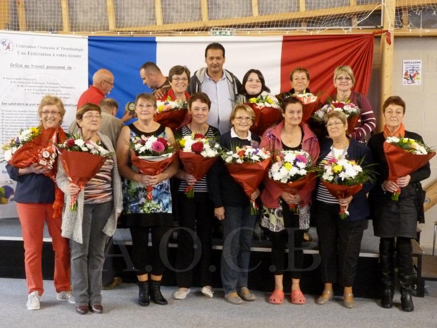 Championnat FFO 2014  Mme les  Bénévoles