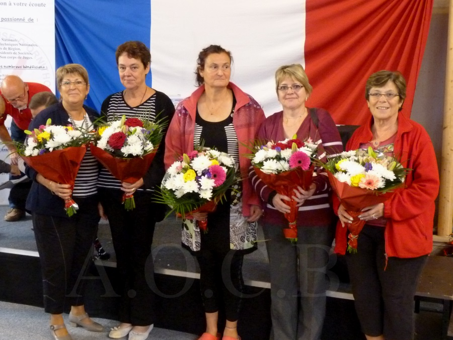 Championnat FFO 2014 les femmes Bénévoles (1)